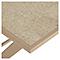Table de jardin métal carrée Blooma Aronie sable 62,5 x 62,5 cm